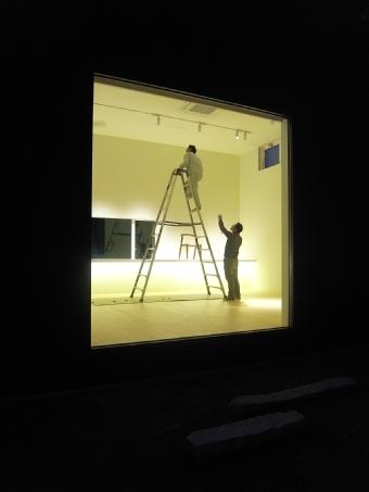 新店舗の照明