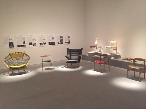 デンマーク・デザイン展へ