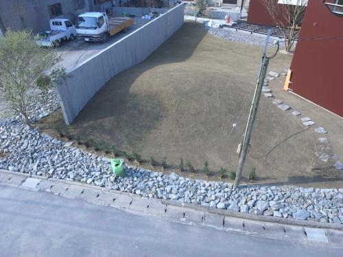 新店舗建築途中の写真です。。