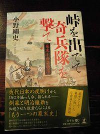 島村志津摩の小説(峠を出でて奇兵隊を撃て)
