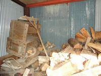 今年の薪の消費量
