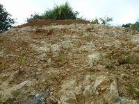 沖縄黄土で成型