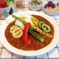 夏野菜カレー。