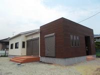 新しいお家の完成です。☆