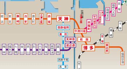 マンスリーマンション駅沿線マップ