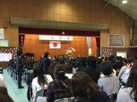 中学校入学式☆