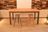 B.ウォールナット×B.チェリーダイニングテーブルと極上パドック一枚板お買い上げ!