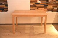 シンプルなホワイトオークのテーブル完成!