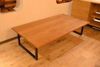 オーク×アイアン2way脚テーブルと綺麗な一枚板が複数枚仕上がりました☆