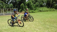 マウンテンバイクの学校(10月)