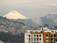 Quitoの町