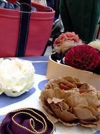 2月22日のmama'ズ マーケット…お花とバッグ