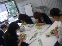 赤坂にある料理学校での一コマ
