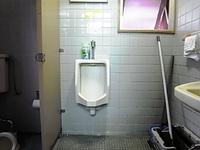 トイレ改装現場にて