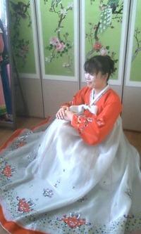 あかすりあとの、韓国衣装