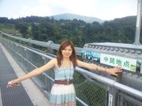 日本1の 吊り橋 に酔う