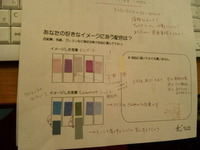 カラーの勉強 ~バリアフリーの色~