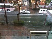 ☆洪水??・・・・の巻☆