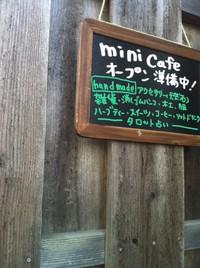 mini cafe開業日記~小物いろいろ~