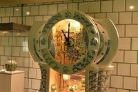 有田焼からくりオルゴール時計