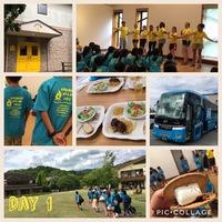 夏の英語キャンプレポート DAY 1