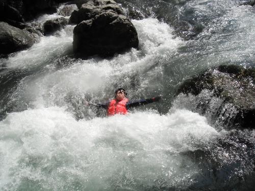 キャニオニングより楽しい水遁の術