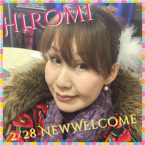 Hiromiライブショー 2/28 ステージ