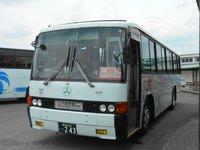 加世田でバス