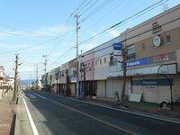 平野ハイツ商店街前