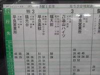 博多バスターミナルで西鉄バス全線完乗を考える