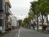 坂本町から歩いて南下