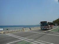 波津橋 海岸線に架かる目立たない橋