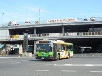 都営地下鉄大江戸線築地市場駅