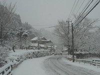 湯の野雪2018