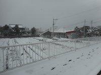 脇山小学校前雪2018
