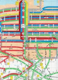 西鉄バス福岡都市圏路線図 昭和59年6月30日現在