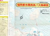 西鉄バス福岡都市圏路線図 昭和62年4月現在