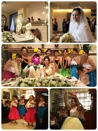 薬院金フラ Sちゃんの結婚式