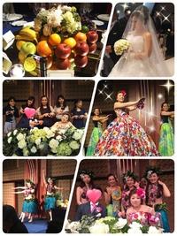 生徒さんの結婚式