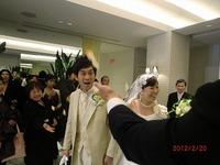 社員の結婚式がありました♪