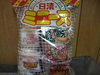 日清ミニーズカップ麺