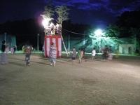 初盆参りと盆踊り大会