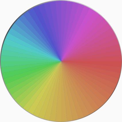 色彩心理大分画像