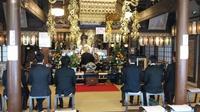 如意輪寺での法要と法話