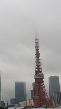 曇り空の東京