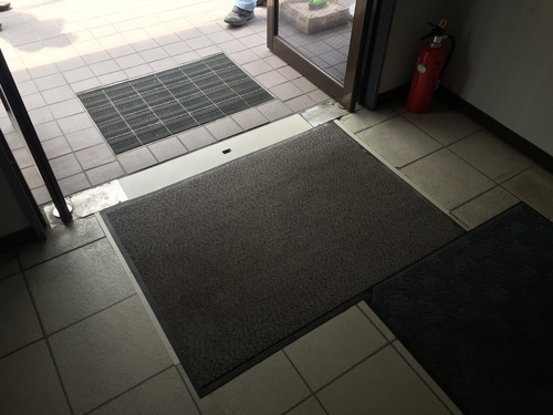 玄関床貼り 福岡
