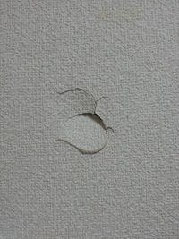 中央区今泉にて壁穴補修工事の事例