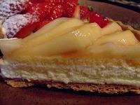 ラ・フランスとチーズの贅沢タルト