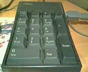 数字が入らないときは、NumLockを押しましょう