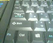 Shiftキーの使い方